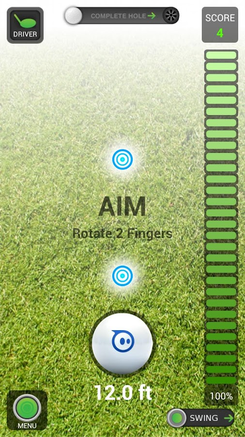 Sphero Golf - screenshot