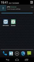 Screenshot of APN Switch