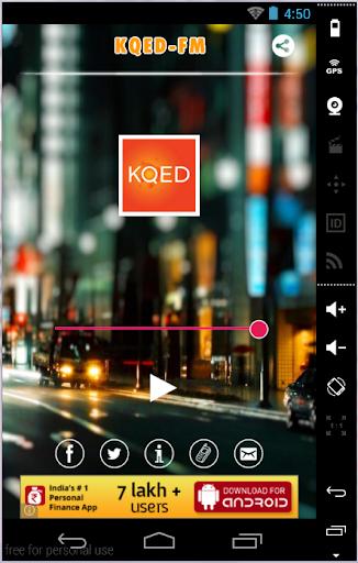 KQED FM Radio San Francisco