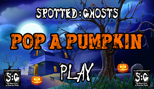 Pop a Pumpkin - Spotted Ghosts