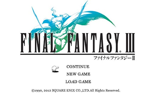 FINAL FANTASY III- screenshot thumbnail