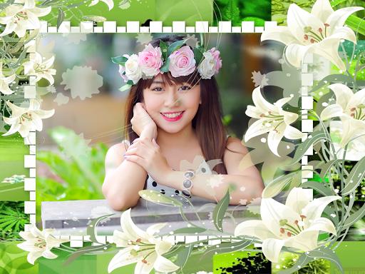 Flower Frames Collage