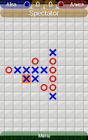 Screenshot of Noughts and Crosses++