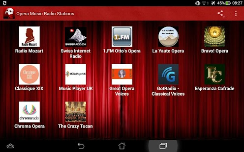 Opera Music Radio Stations