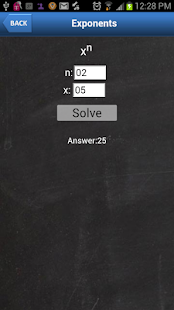 Algebraic Calculator - screenshot thumbnail