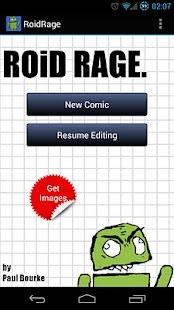 RoidRage Comic Maker - screenshot thumbnail