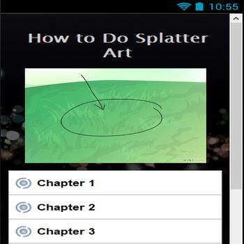 【免費攝影App】Article How to Do Splatter Art-APP點子