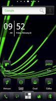 Screenshot of ADW Theme DigitalSoul Green