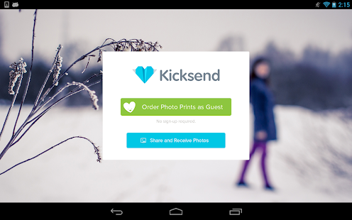 Kicksend: Share & Print Photos- screenshot thumbnail