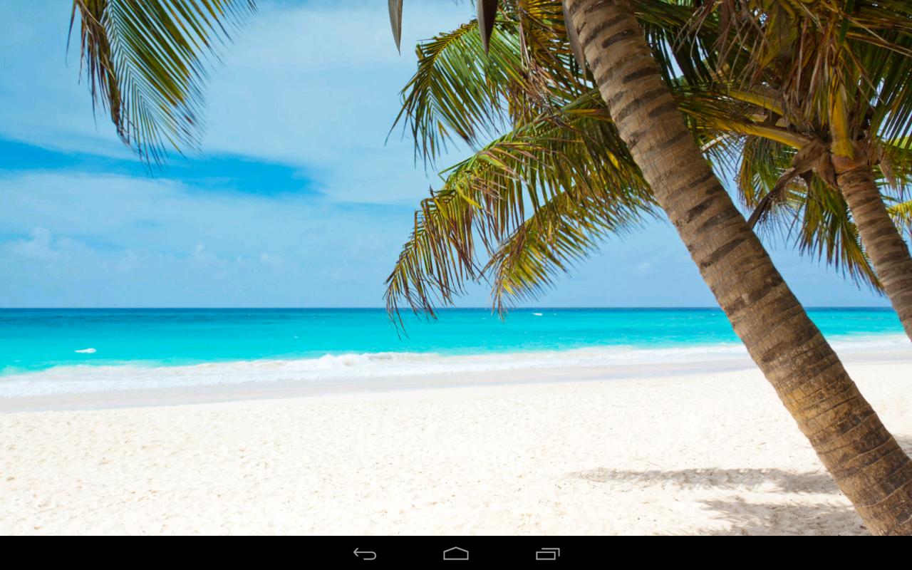 Relaxing Beach Wallpaper Beach Wallpaper Screenshot