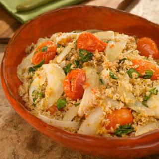Roasted Tomato & Bulgar Salad Florentine