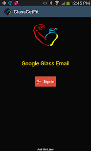 GetFit Pro For Glass - screenshot thumbnail