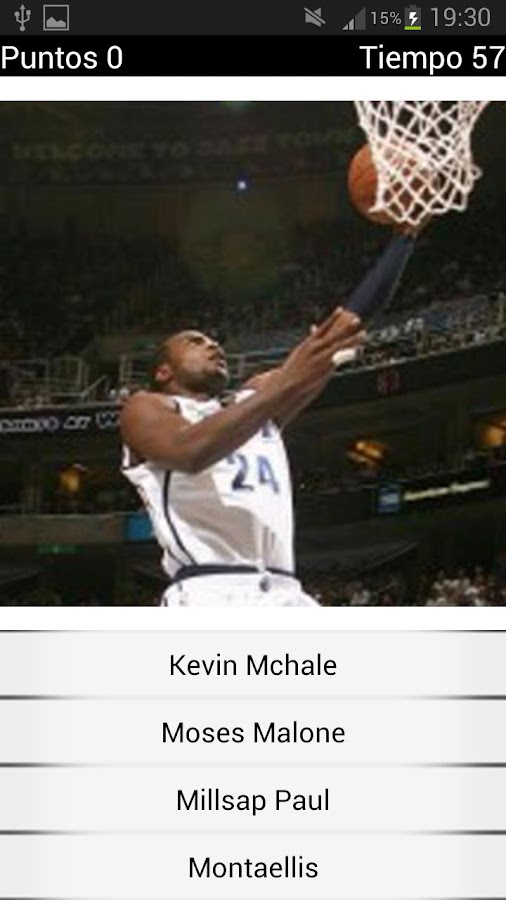 Basketball Photo Quiz - screenshot