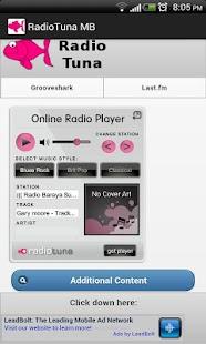 Radiotuna - Grooveshark AIO MB- screenshot thumbnail