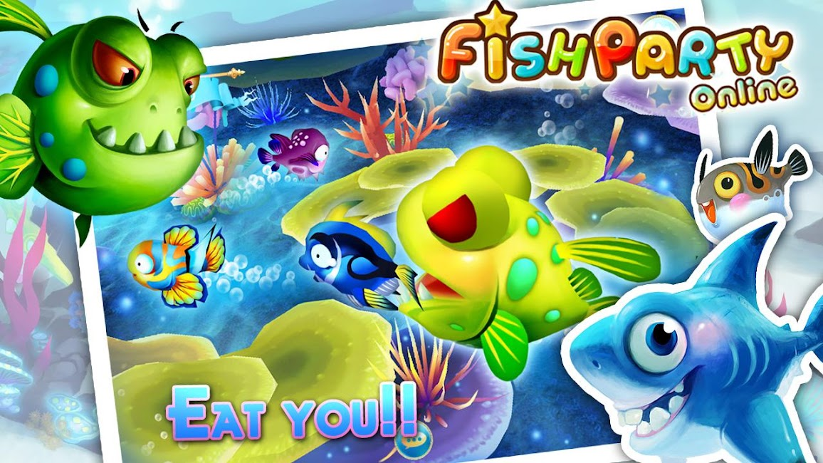 #3. Fish Party Online (Android)