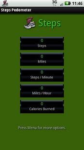步驟計步器