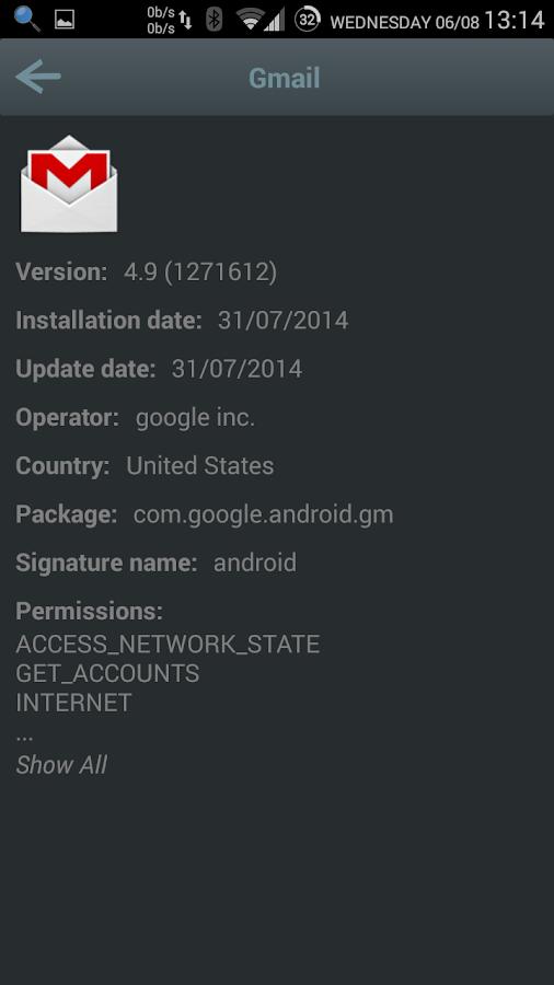 AppSpot - screenshot