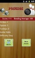 Screenshot of Ten Pin Bowling