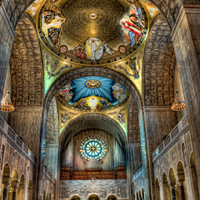 Cathedral In DC by Dawn Robinson - Buildings & Architecture Places of Worship ( church, place of worship, architecture, building, interior, worship )