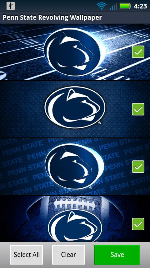 Penn State Revolving Wallpaper - screenshot
