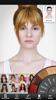 Screenshot of Celebrity Hairstyle Salon