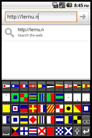Maritime Flag Keyboard