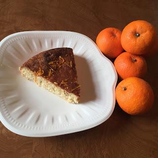 Almond & Seville Orange No Flour Cake Recipe