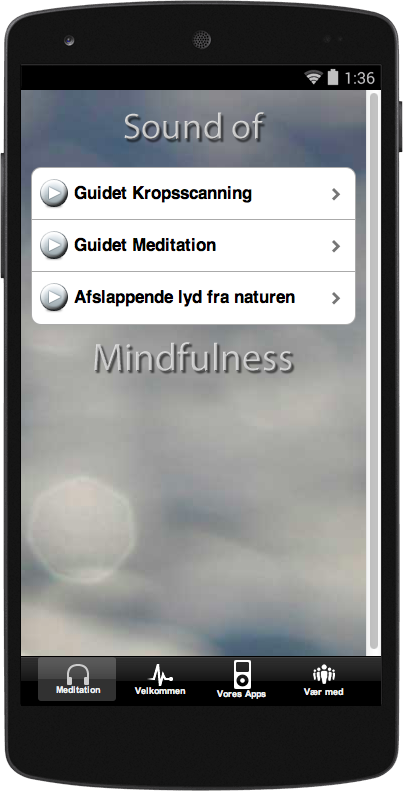 Sound of Mindfulness DK - screenshot