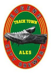 Logo for Track Town Brewery