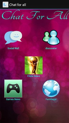 Chat For All clubs games