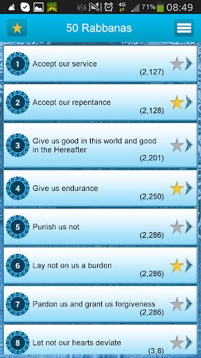 50 Rabbanas: Quranic Duaas