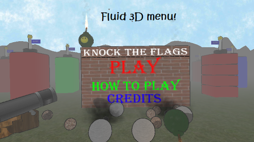 Knock the Flags