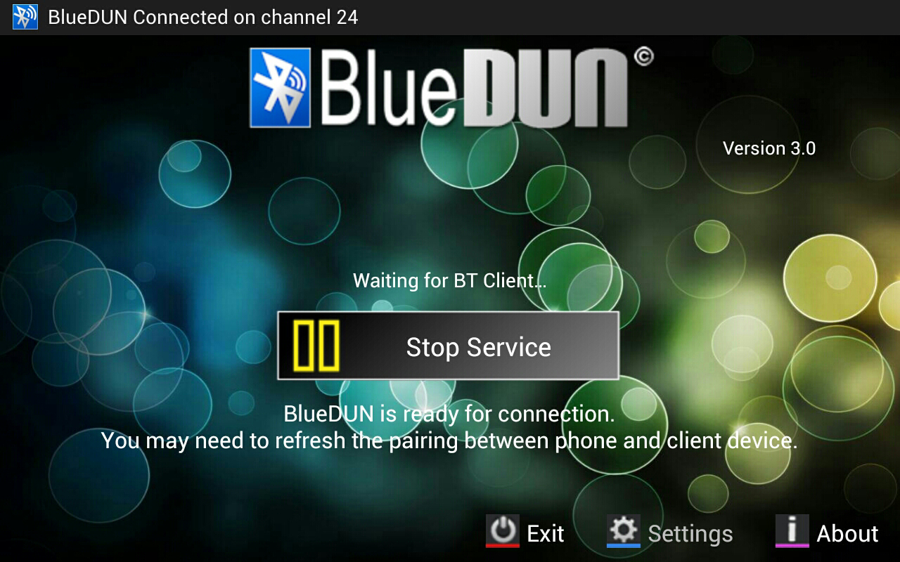 BlueDUN - screenshot