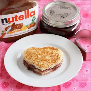 Nutella Sandwich Recipes.
