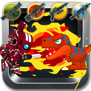 Red Rangers Robot VS Dinosaurs for PC and MAC