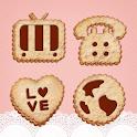 Sweet Cookies Atom Iconpack icon