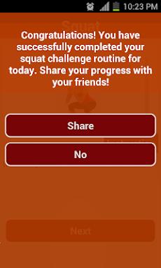 30 Day Squat Challengeのおすすめ画像5