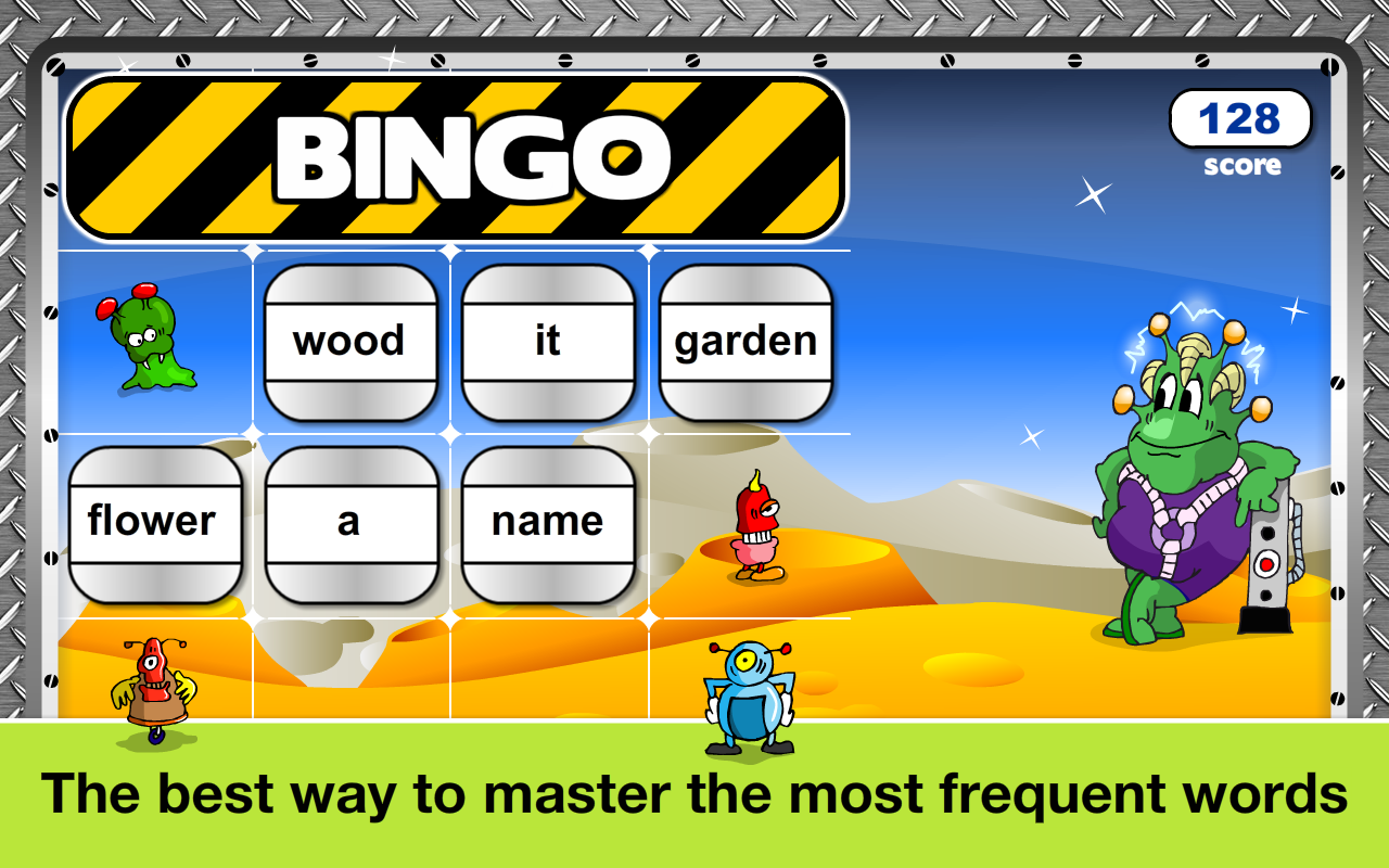 Sight Words Games & Flash card- screenshot