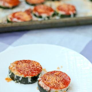 Bite-Sized Zucchini Pizzas