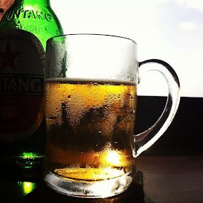 by Aditya Maulana - Food & Drink Alcohol & Drinks ( photoholic, beer, time, bali, instago, indonesia, iphonesia, instagramhub, all_shot,  )