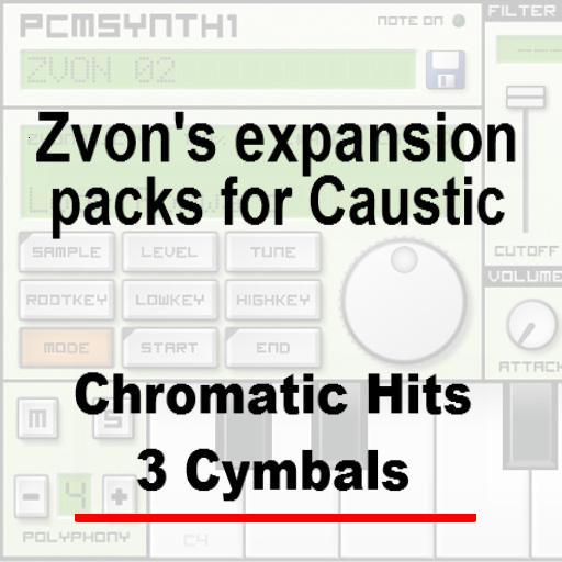Chromatic Hits 3 - Cymbals
