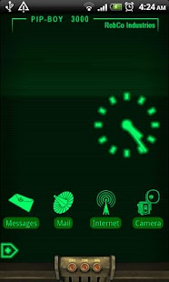 PipBoy 3000 Live Wallpaper - screenshot thumbnail