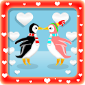 Mega Penguin Love LWP icon
