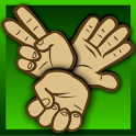 Rock paper scissors icon