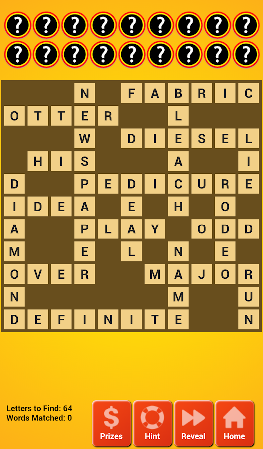 Cashword by Idaho Lottery - screenshot