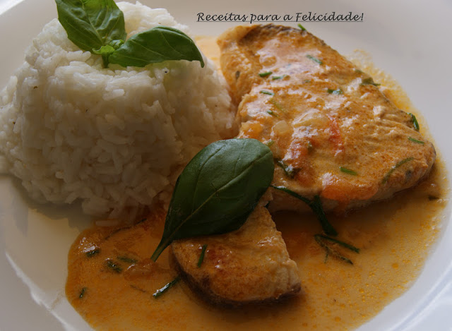 Dogfish in Coconut Milk with White Rice Recipe