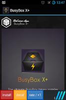 Screenshot of busybox X+