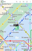 Screenshot of Paris Metro Free by Zuti
