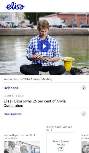 Elisa Investor Relations