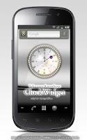 Screenshot of 2月の誕生石の時計ウィジェット